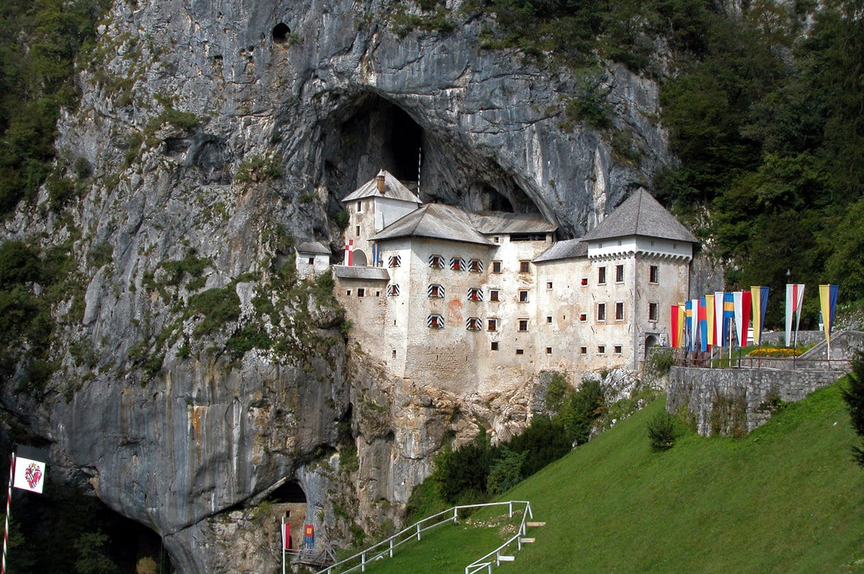 Predjama castle, the biggest cave castle in the world