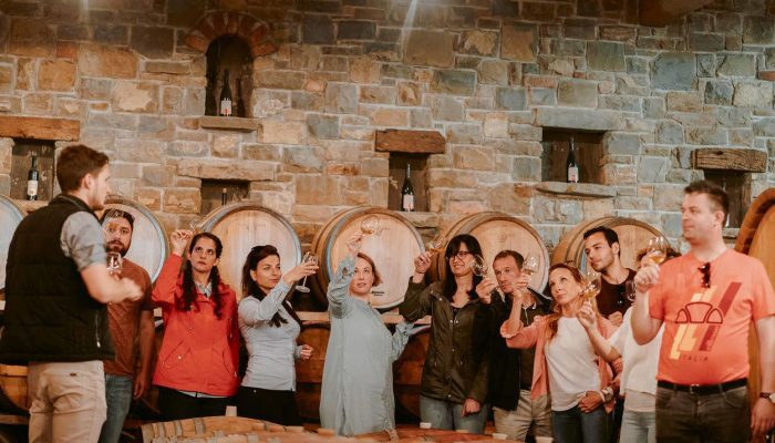 Learning about wine directly from the winemaker
