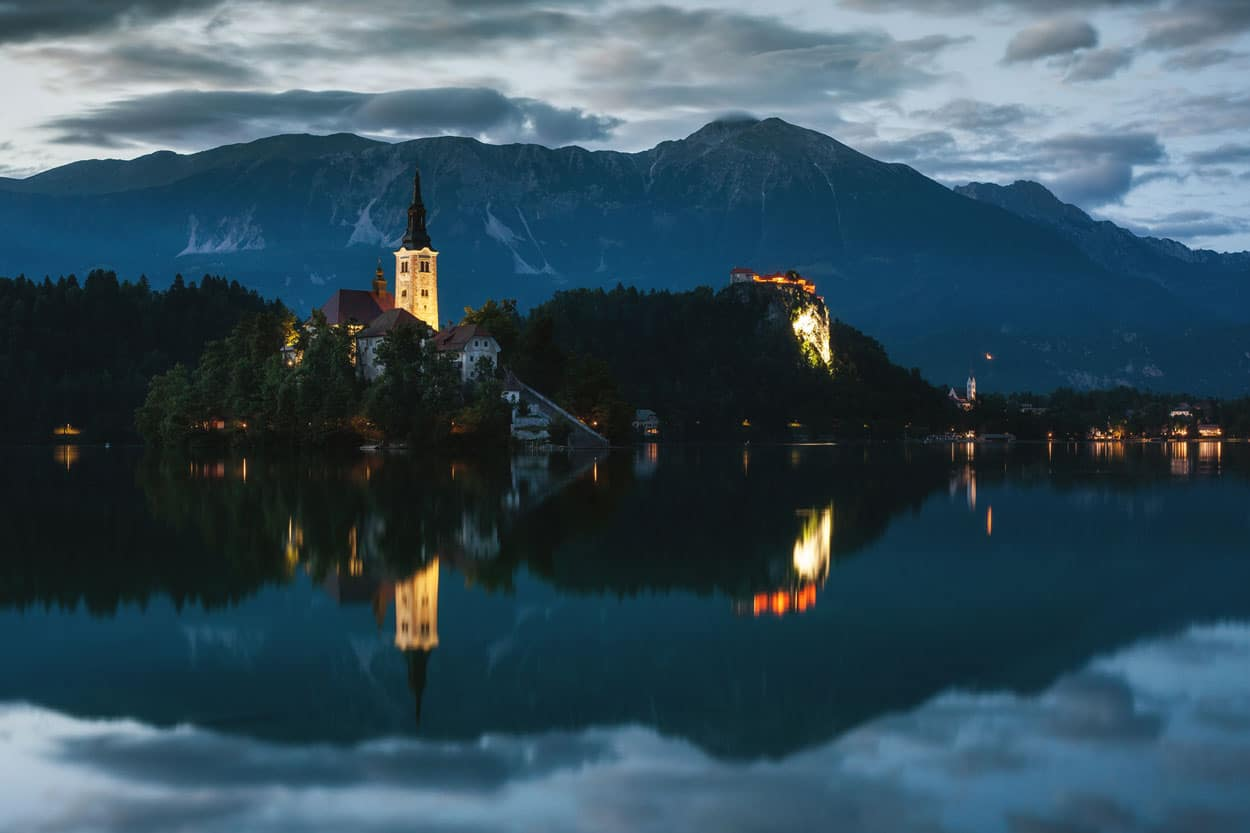 Photo tour in Bled