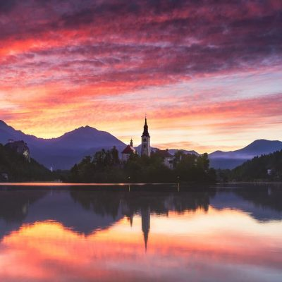 Photo tour in Lake Bled