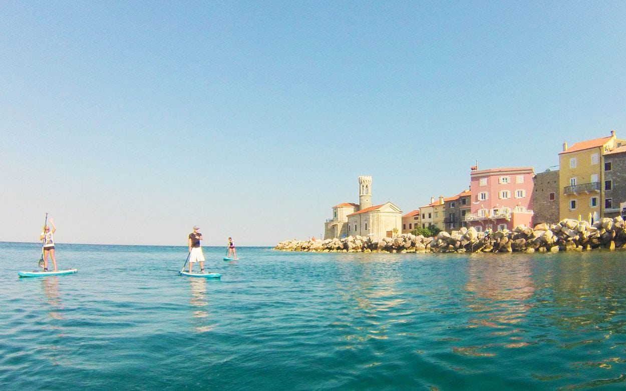 SUP holidays Slovenia in Piran