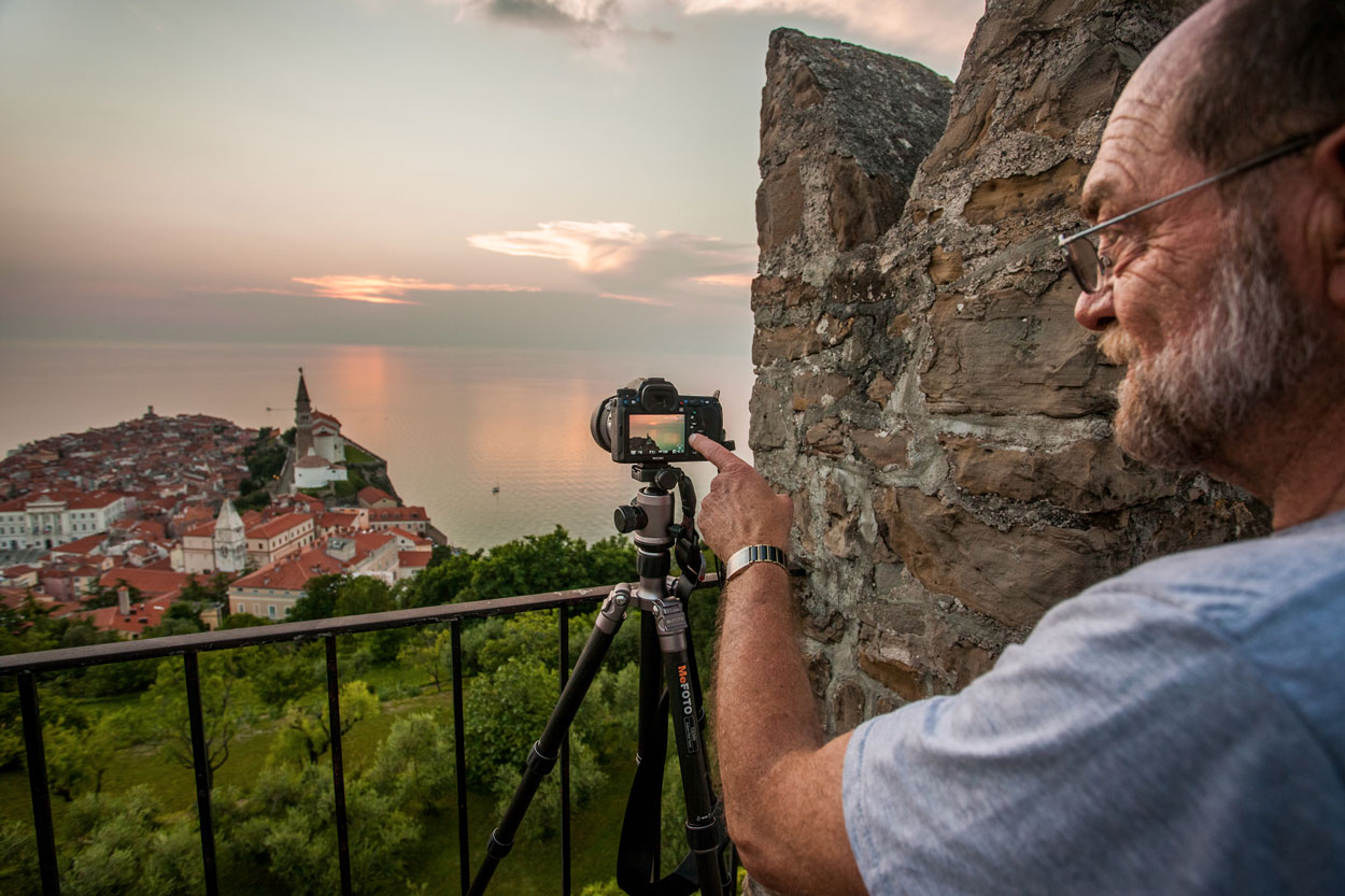 Photo workshop in Piran Slovenia
