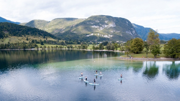 SUP Holidays Slovenia in Lake Bohinj