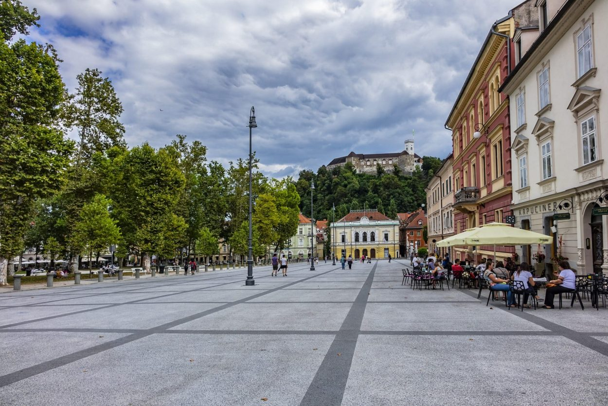 Congress Square in Ljubljana