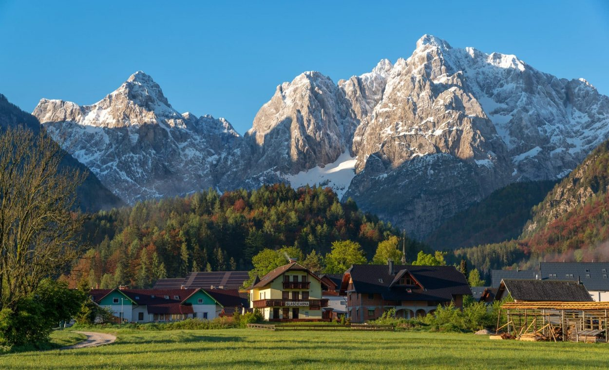 Kranjska Gora at Sunrise