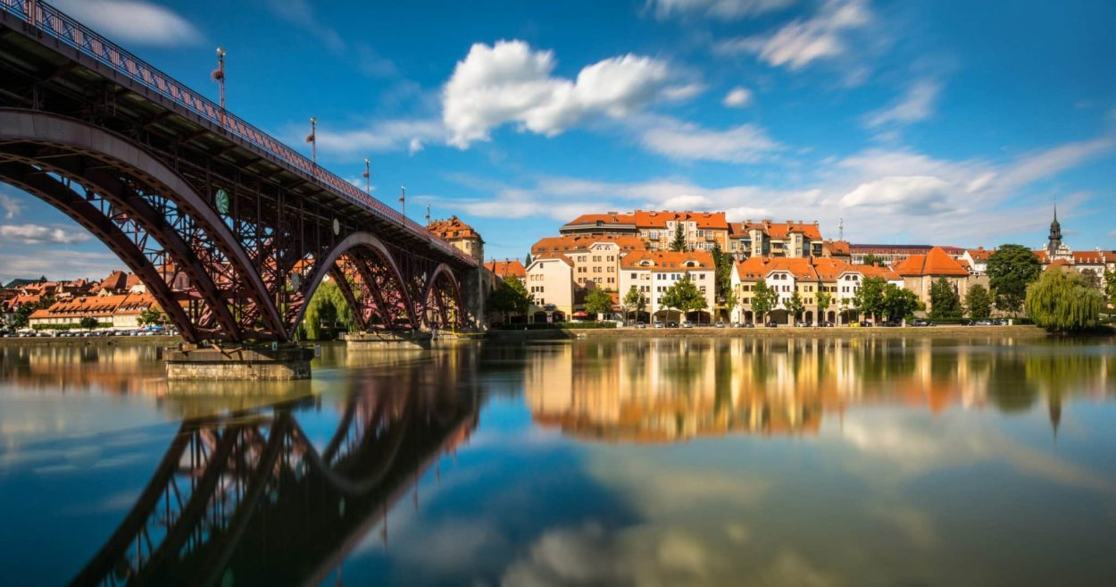 Maribor - the second largest town in Slovenia