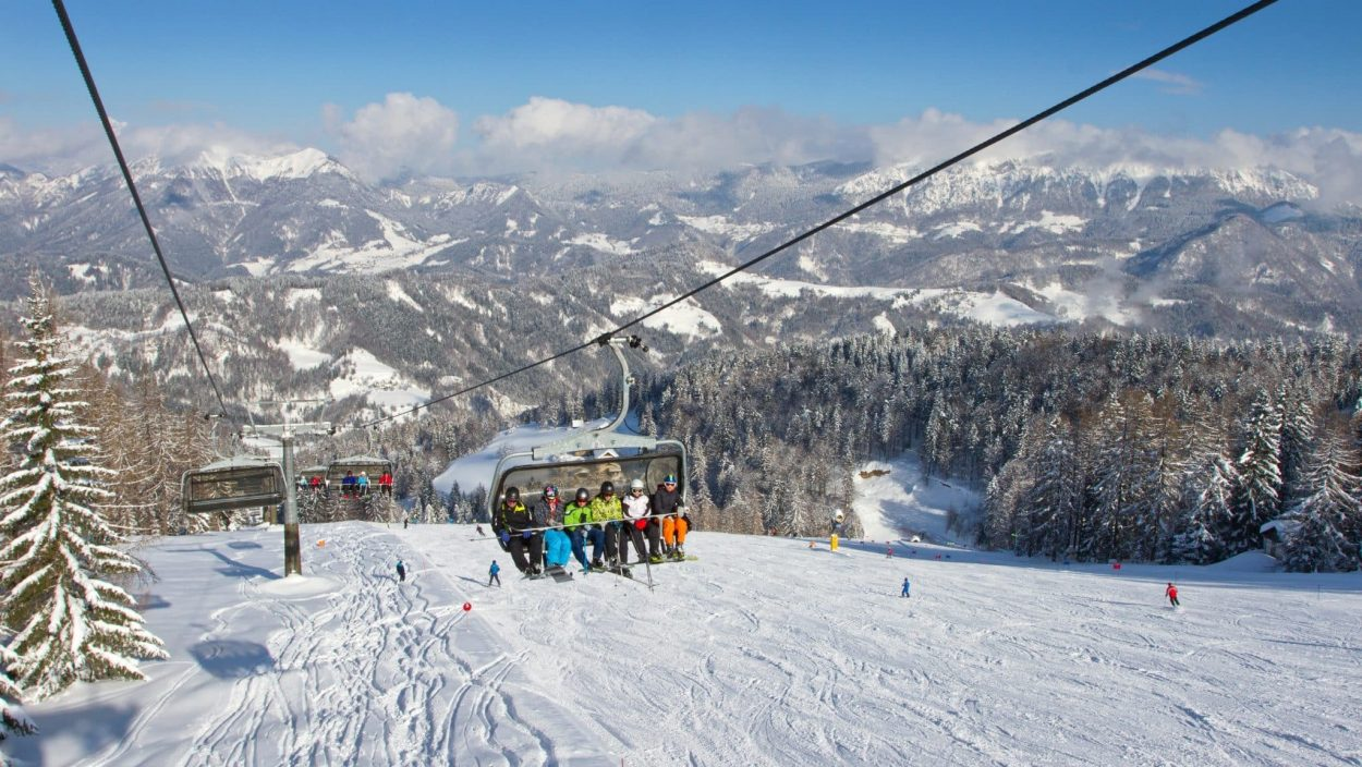 Ski Resort Cerkno - ski lifts