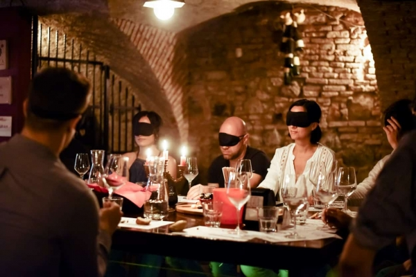 Blindfolded Wine Tasting Ljubljana
