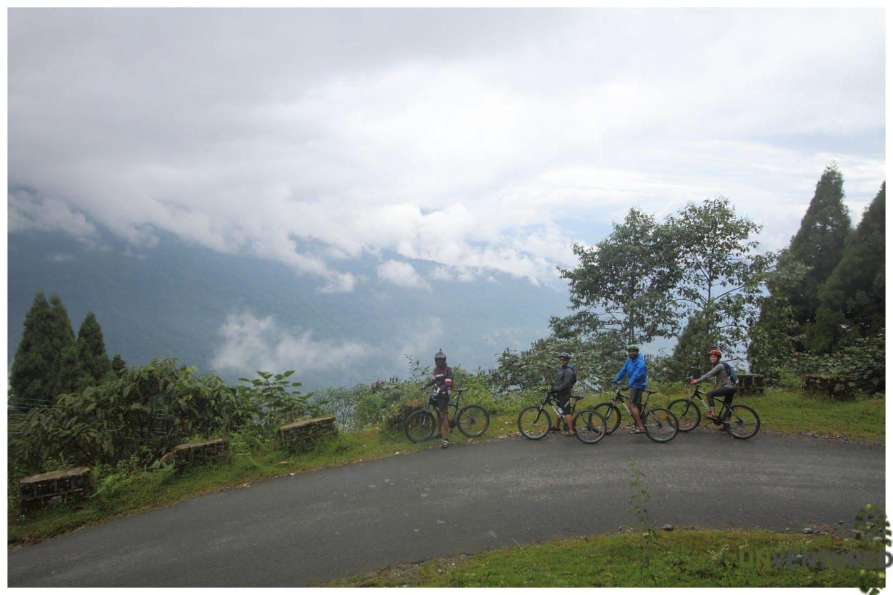 Sikkim cycle tour