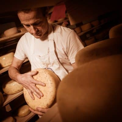 Authentic cheese making