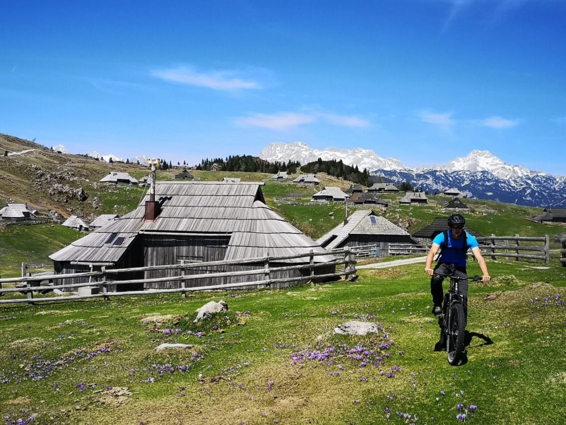 cycling velika planina