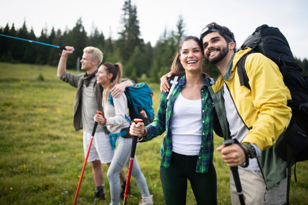 two-couples-hiking