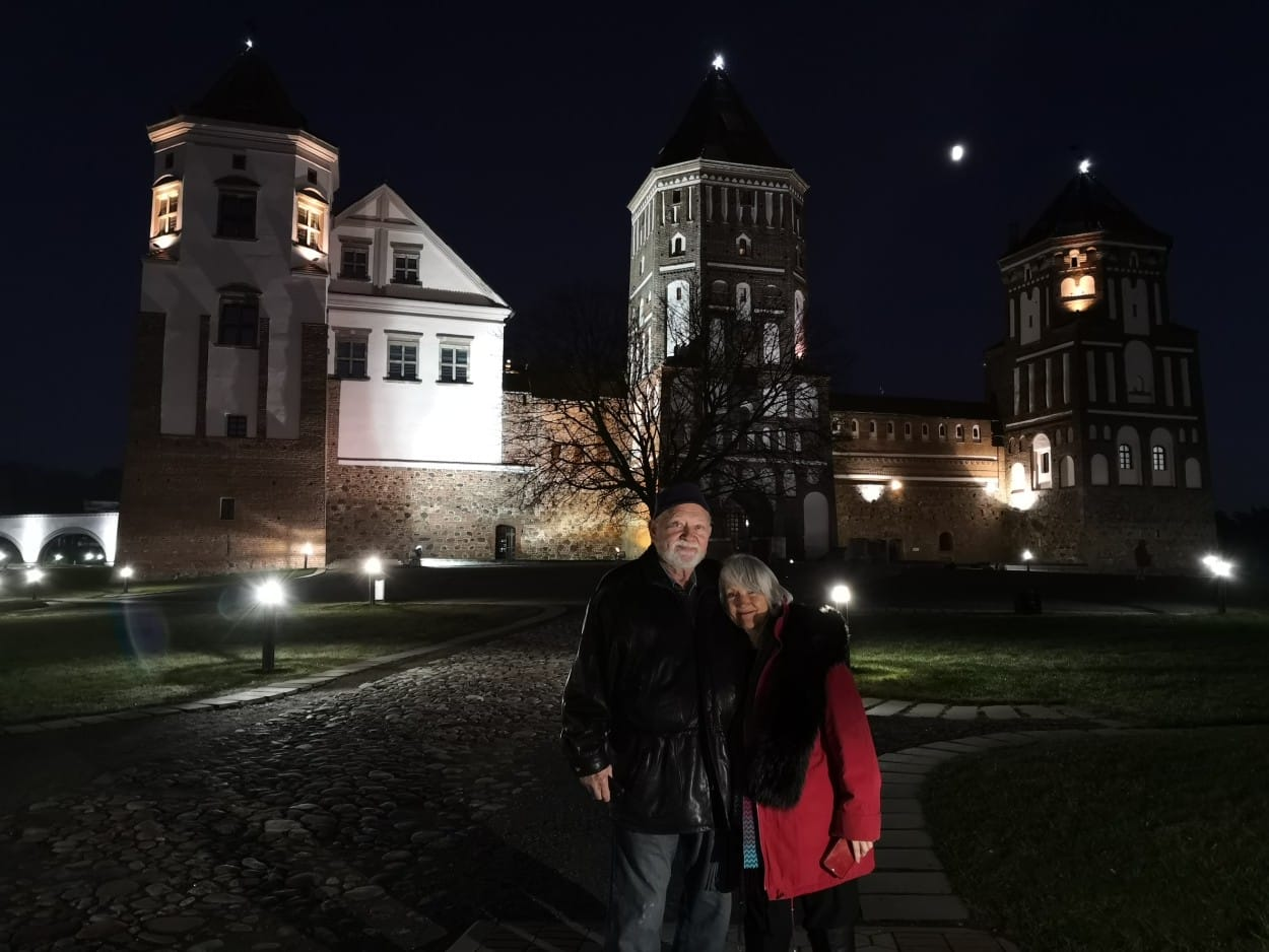 Couple on Minsk Private tour