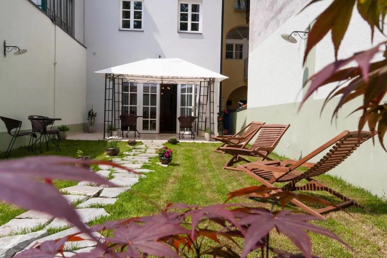 Adora Hotel indoor courtyard