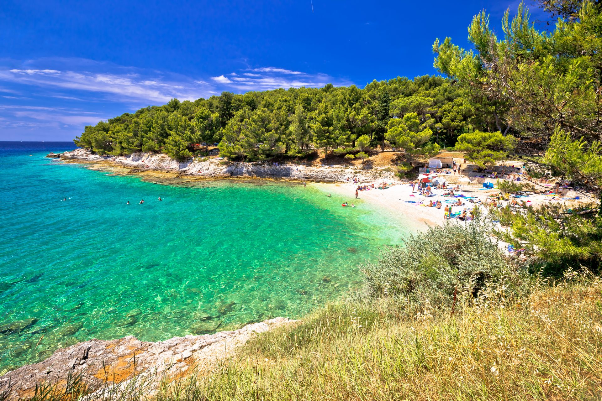 Beach near Pula