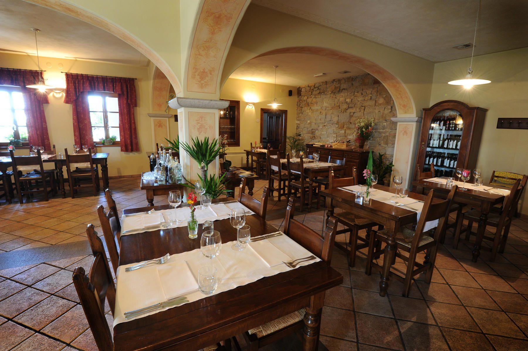 Belica Restaurant Goriška Brda interior