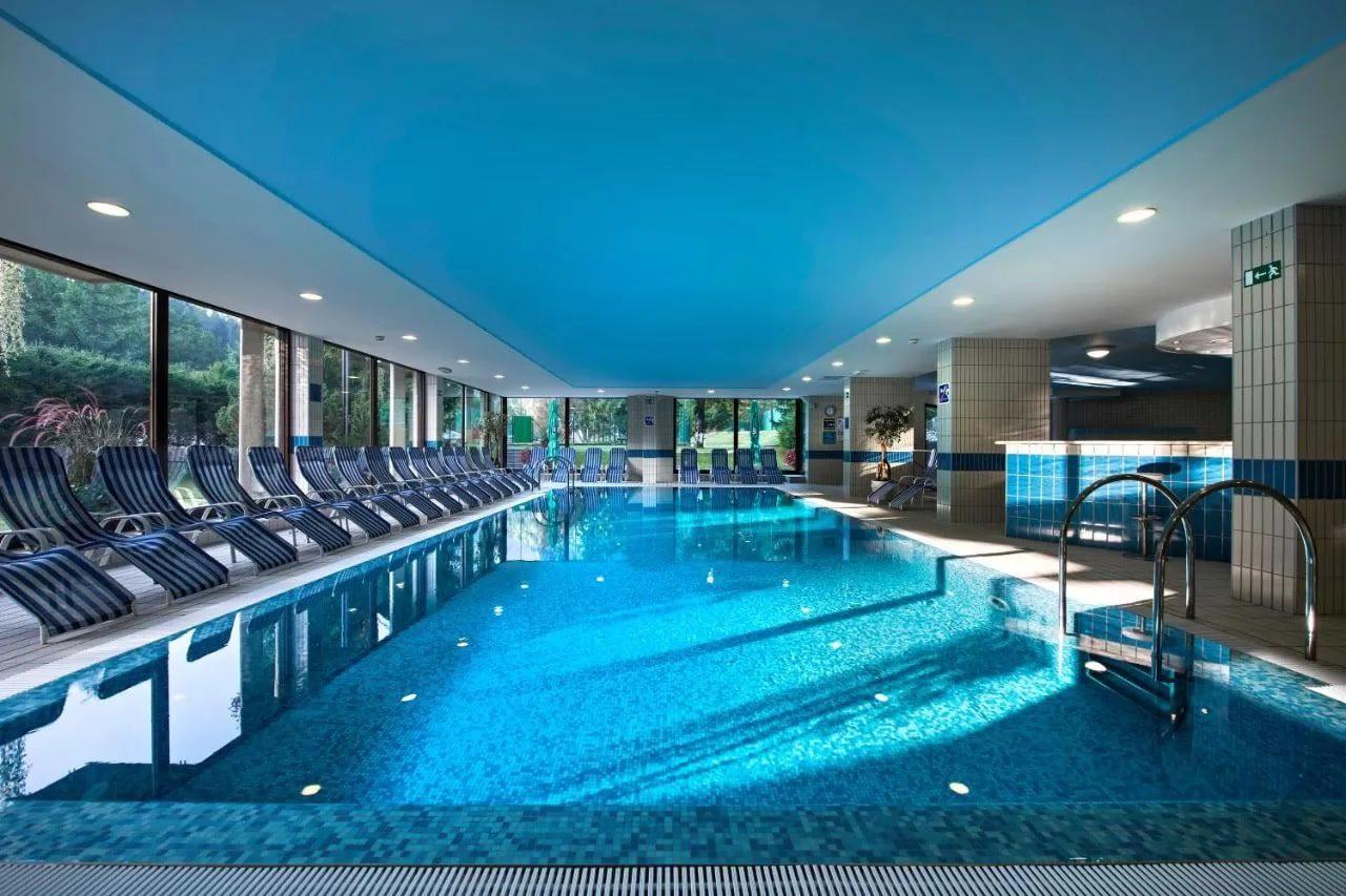 Best Western Kranjska Gora indoor pool