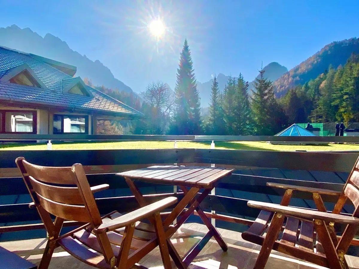 Best Western Kranjska Gora terrace