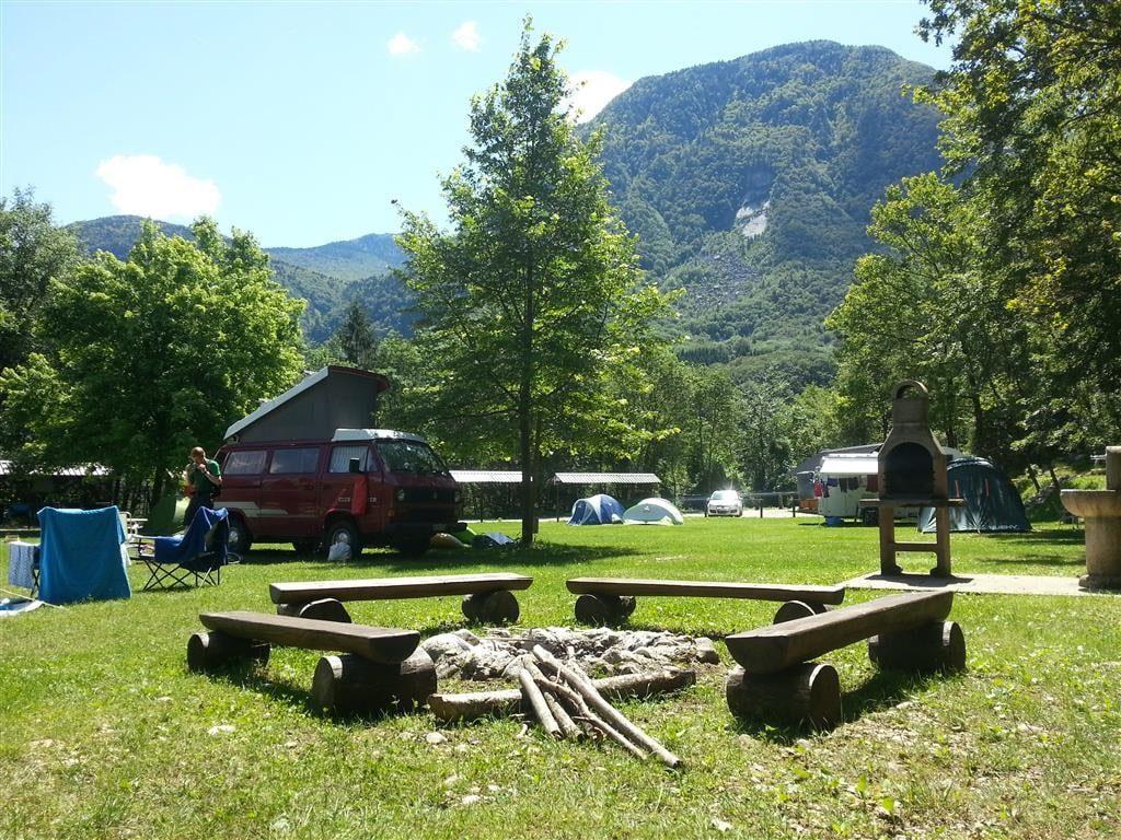 Lugares del camping Vodenca