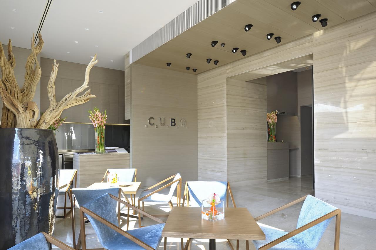 Vestíbulo del Hotel Cubo