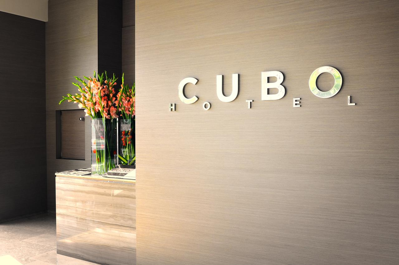 Logotipo del Hotel Cubo