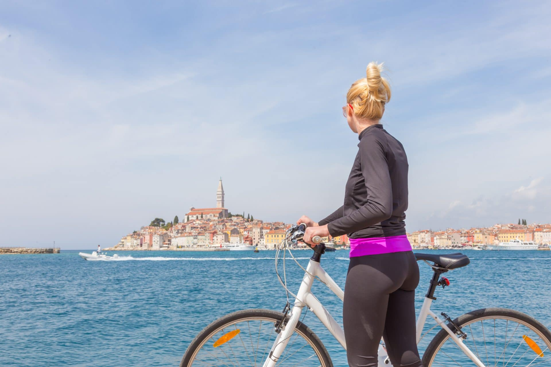 Cycling in Rovinj