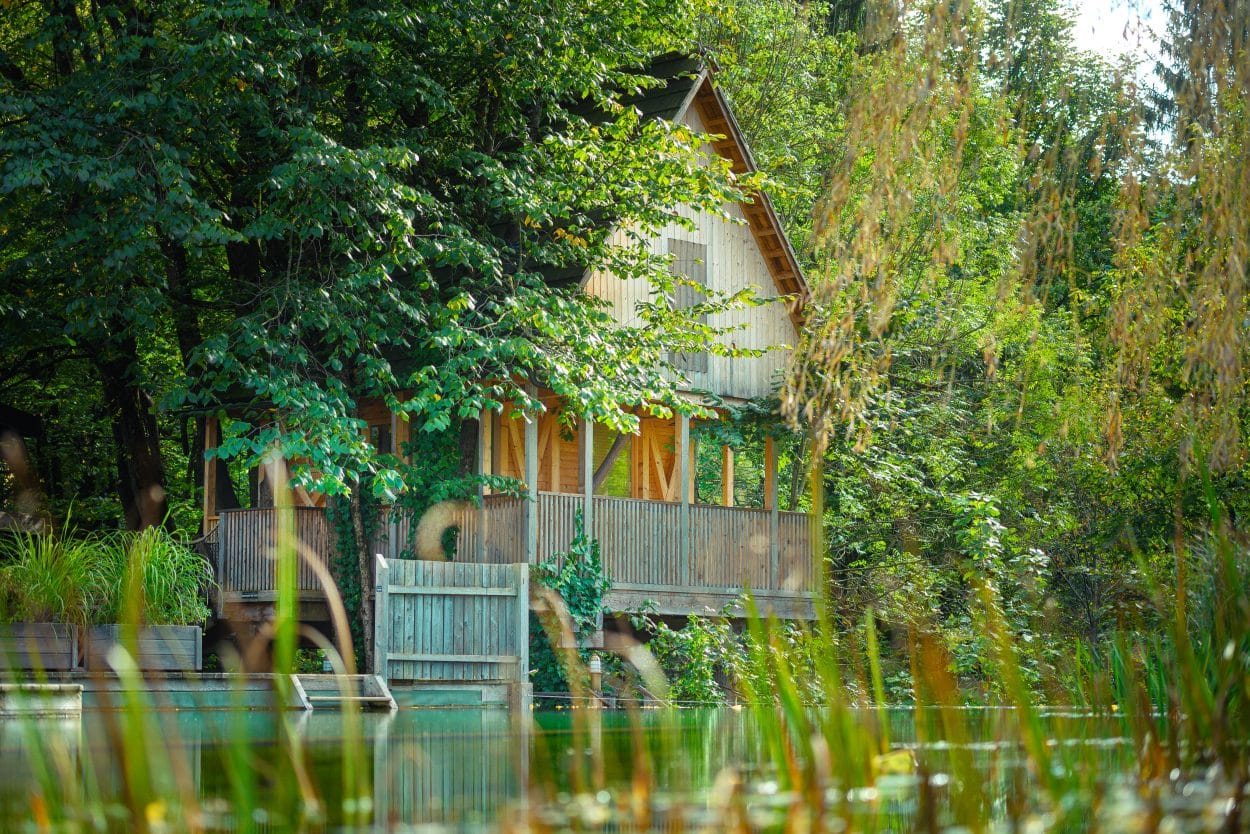 Garden Village Bled house