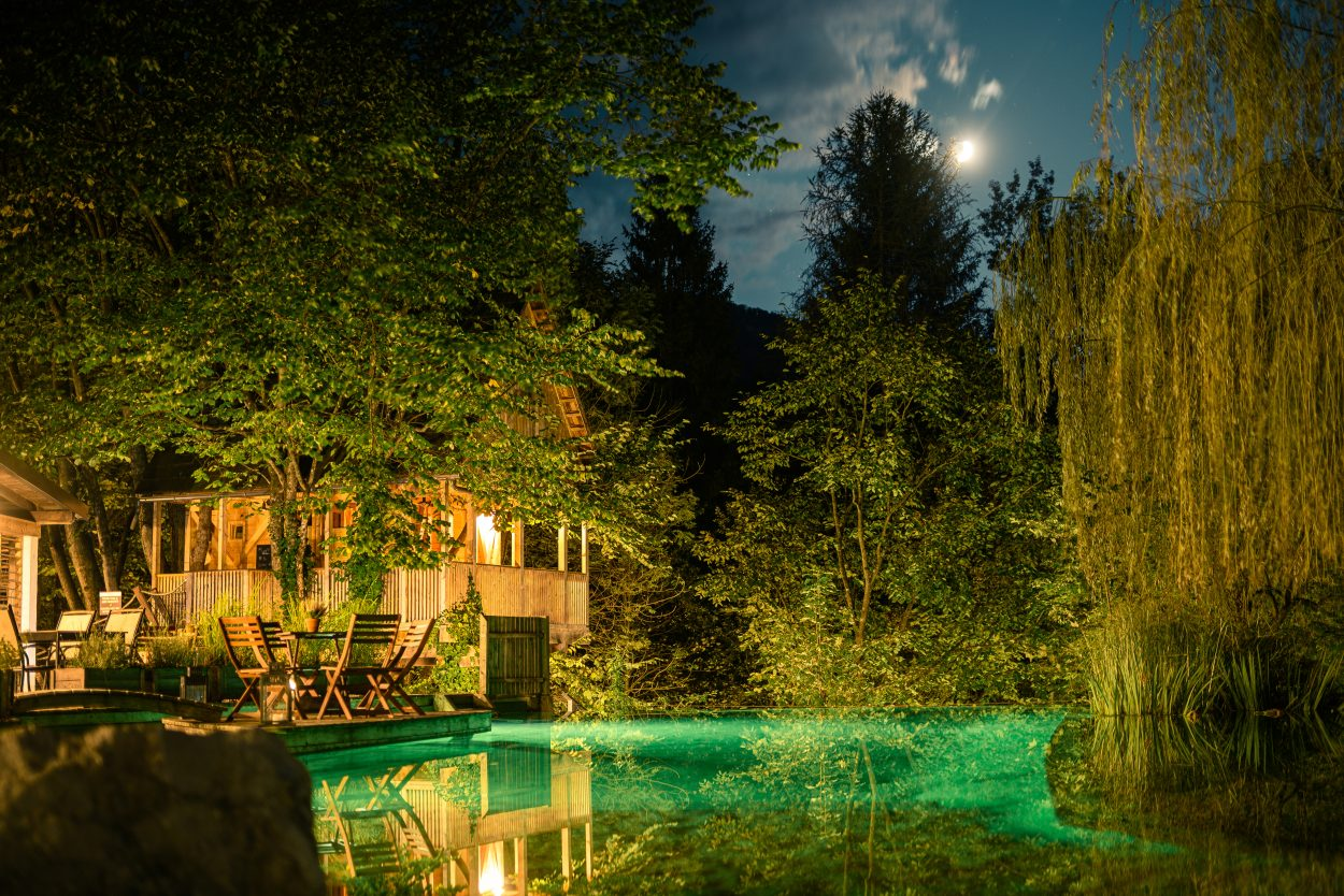 Garden Village Bled scenery
