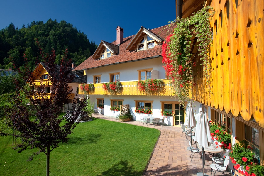 Garni Hotel Berc garden