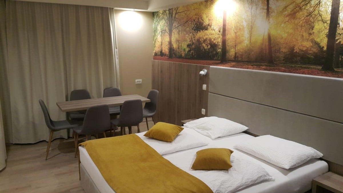 Hotel Alpina room