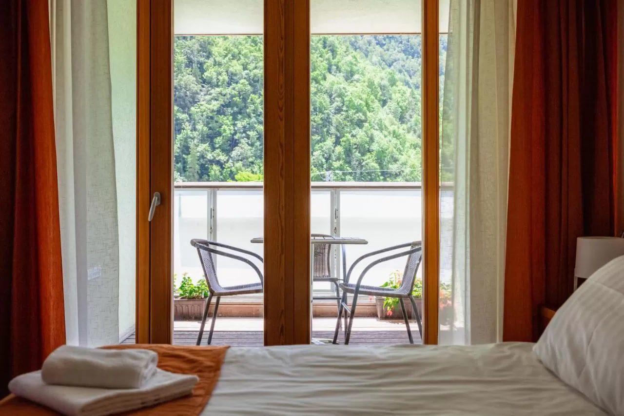 Hotel Boka balcony