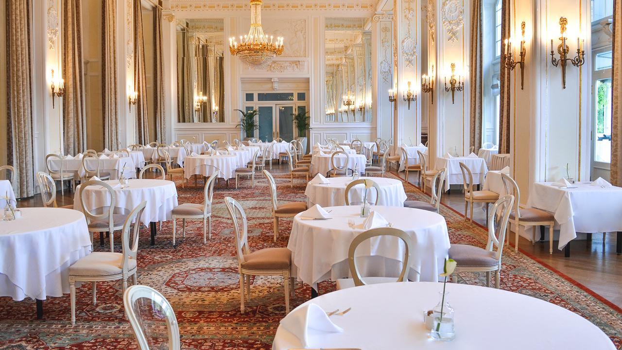 Zona de desayunos del Hotel Kempinski Palace