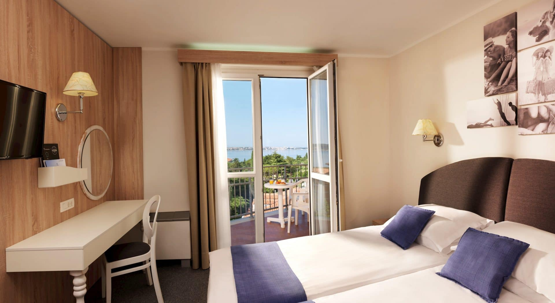 Hotel Mirna balcony view
