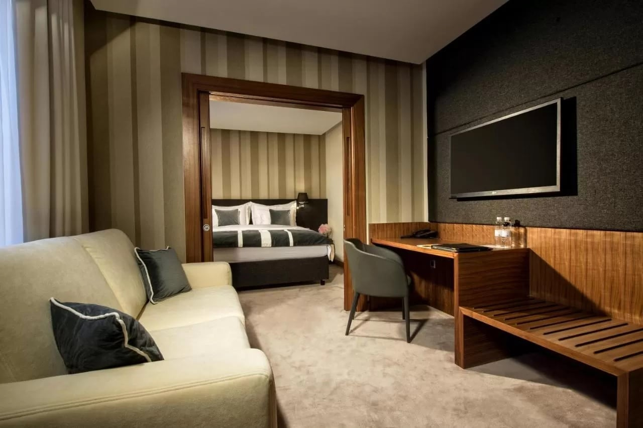 Habitación del Hotel Slon