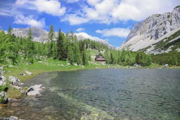 Hut at Triglav Lakes