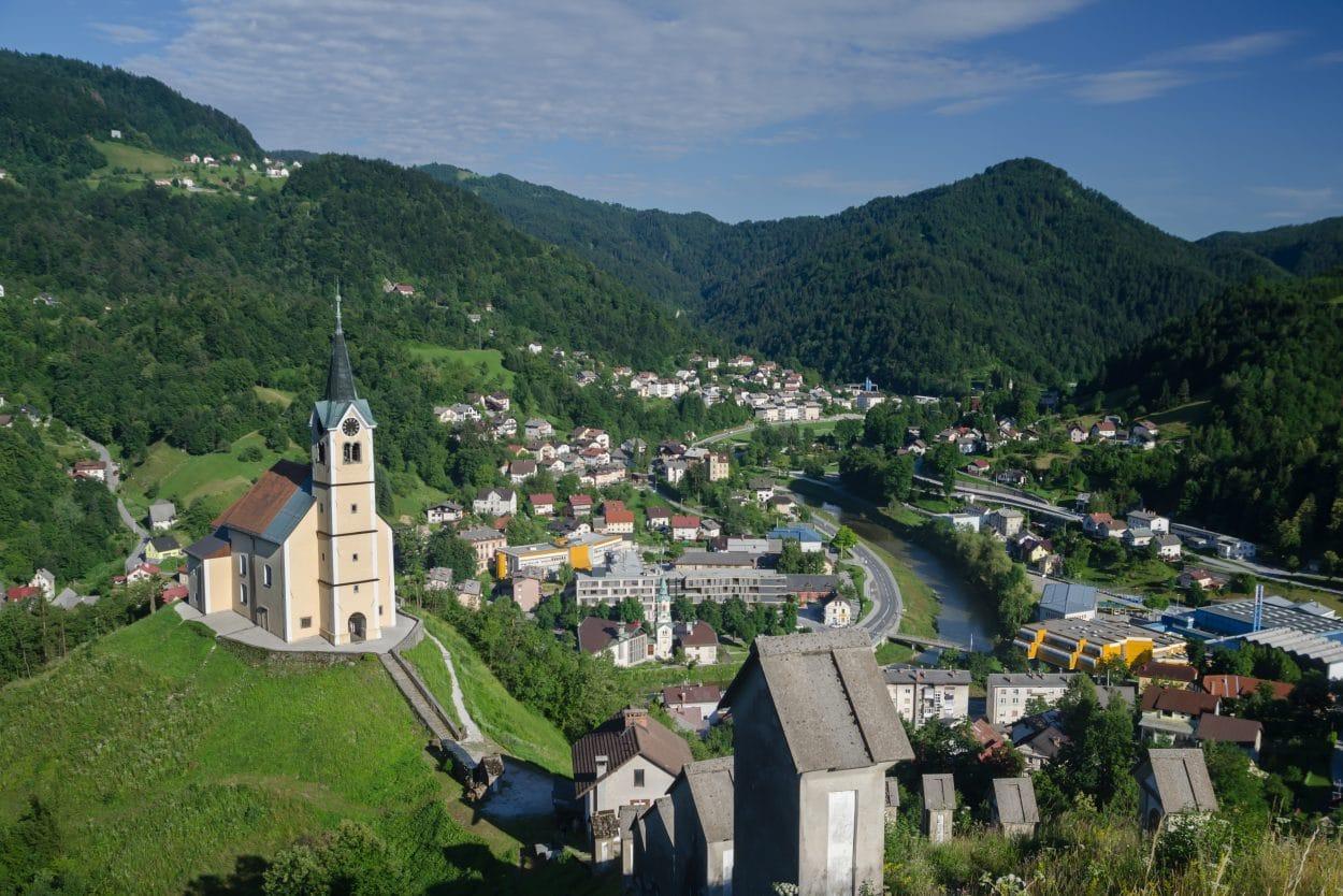 Town of Idrija