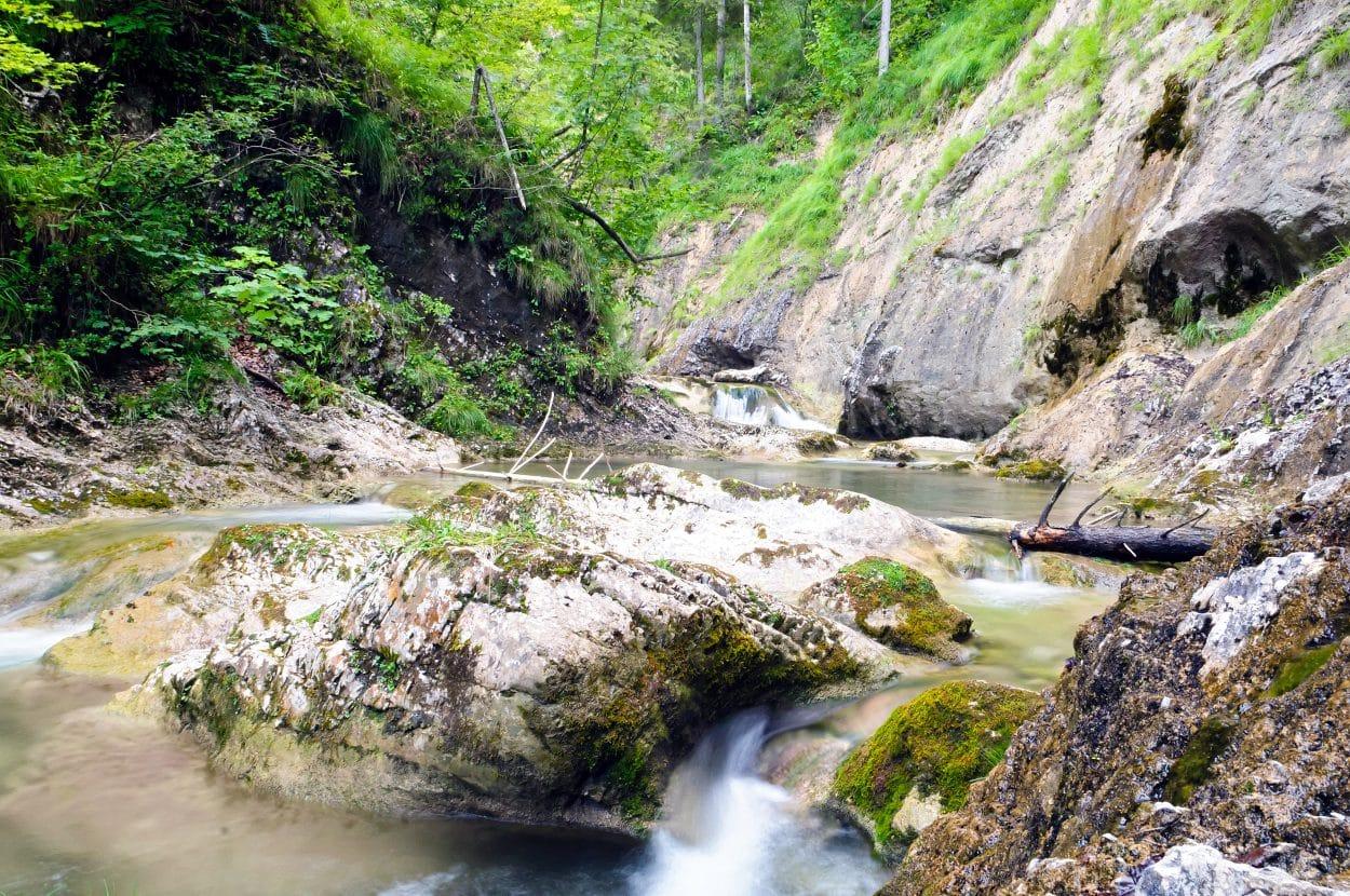 Desfiladero del río Iška