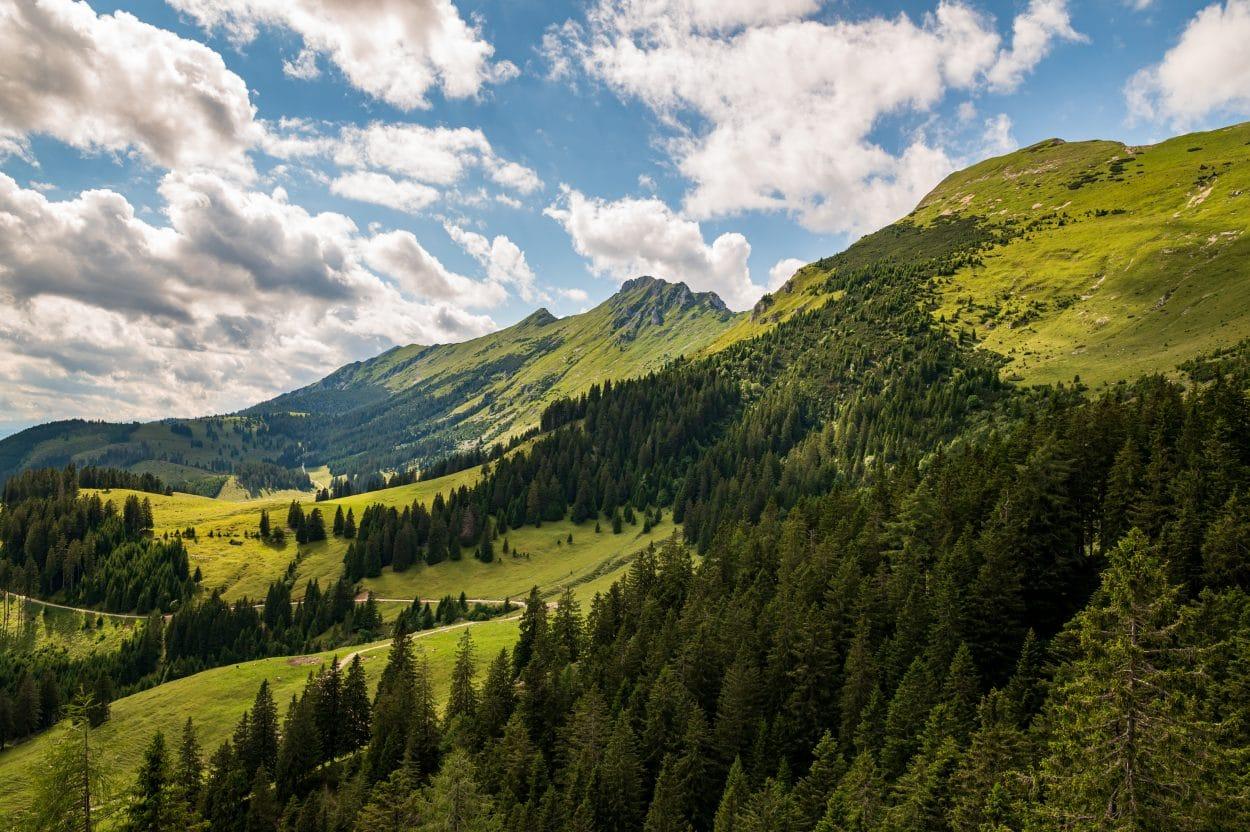 Karavanke mountains