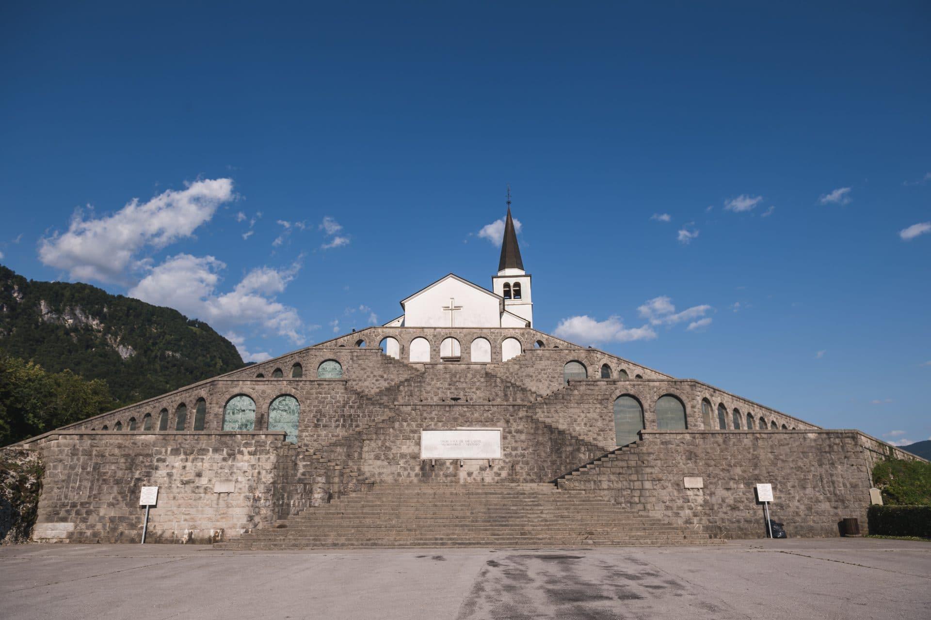 Kobarid italian ossuary WWI heritage