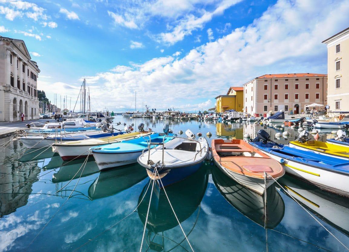 Marina in Piran