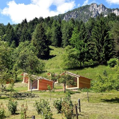 Mountain View Dovje glamping houses