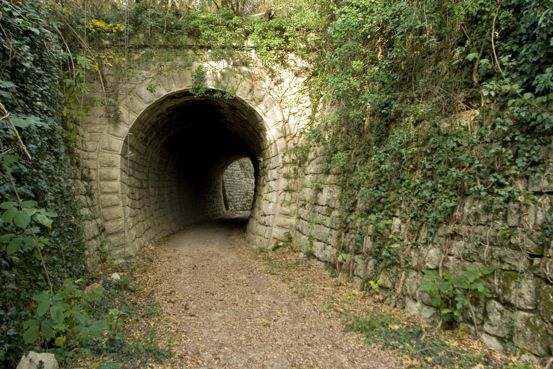 Parenzana tunnels