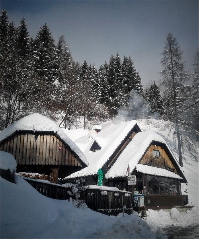 Petrovo Brdo in winter