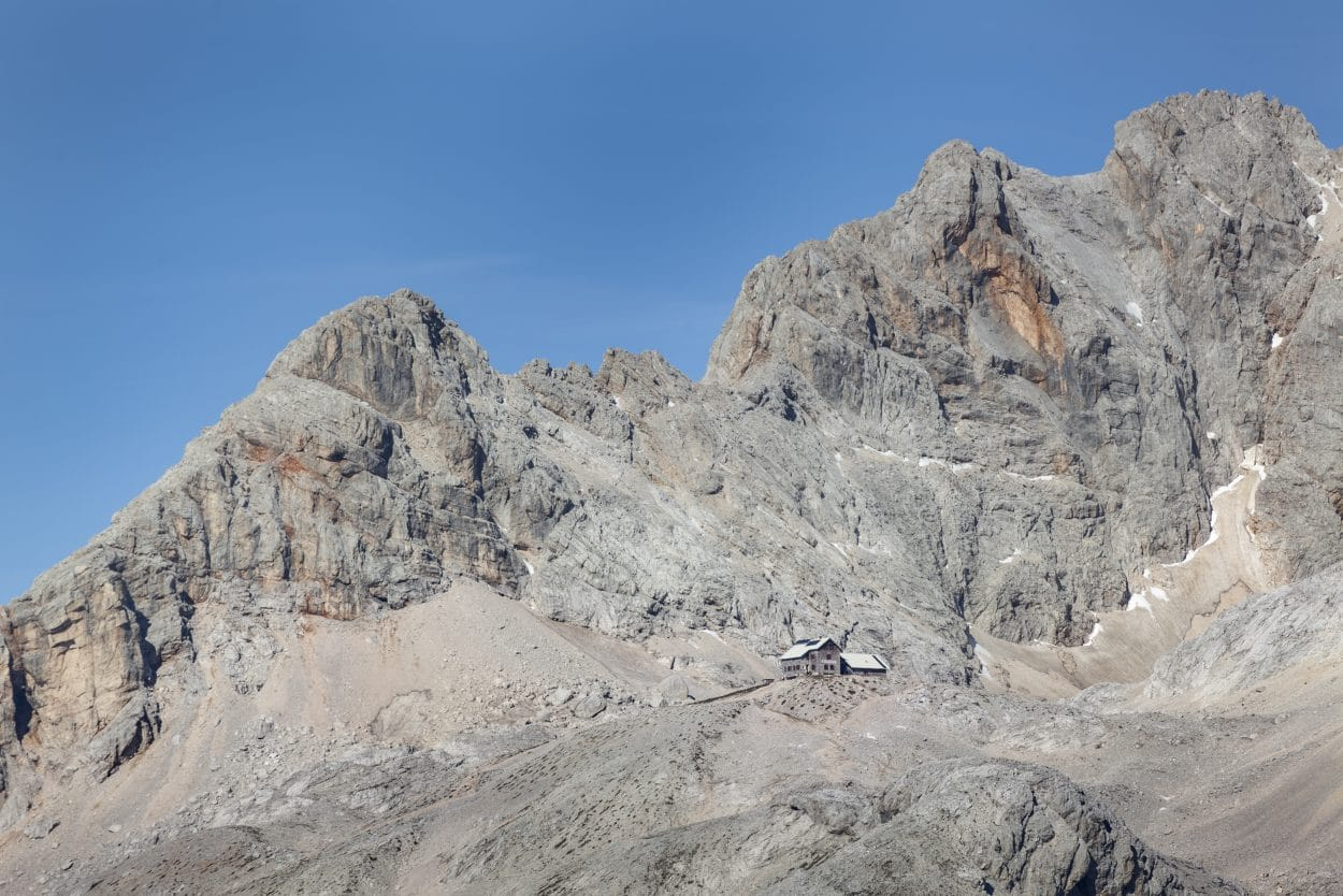 Planika under Mount Triglav