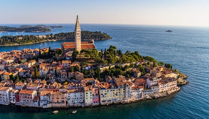 Rovinj Town in Croatia