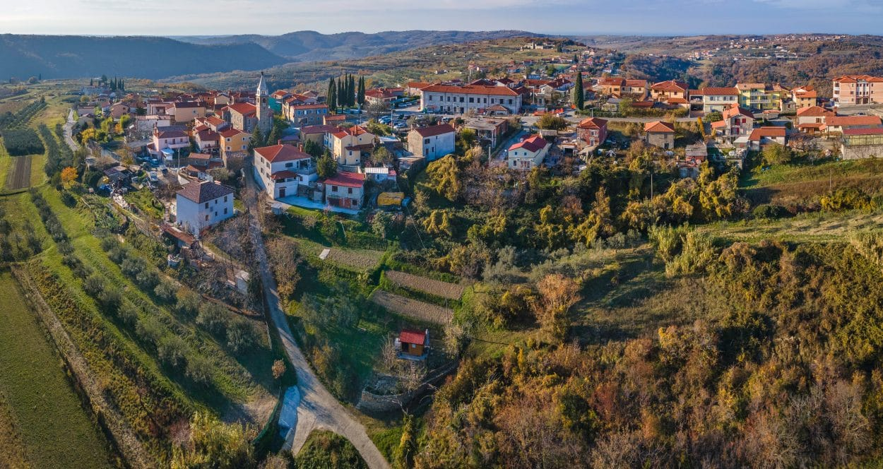 Šmarje Village in Slovenian Istria