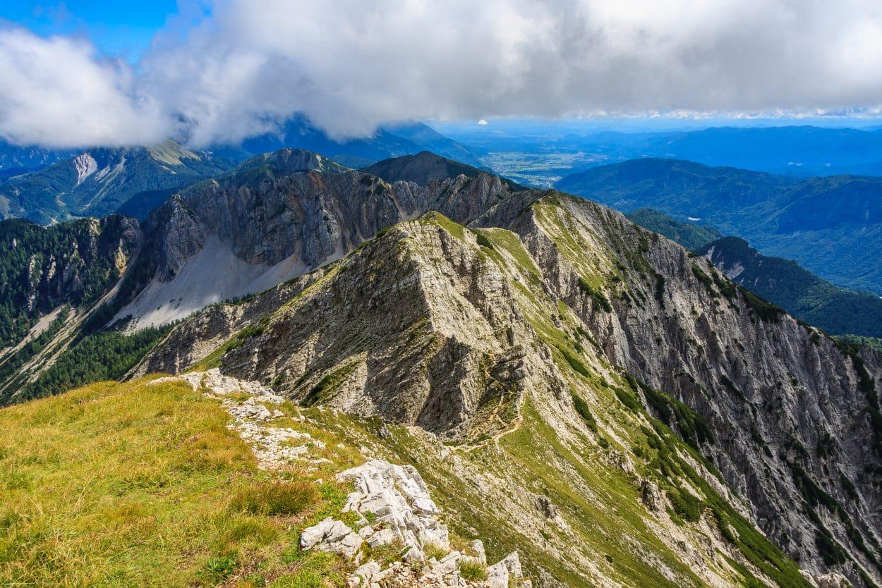 The ridge of Karawanks