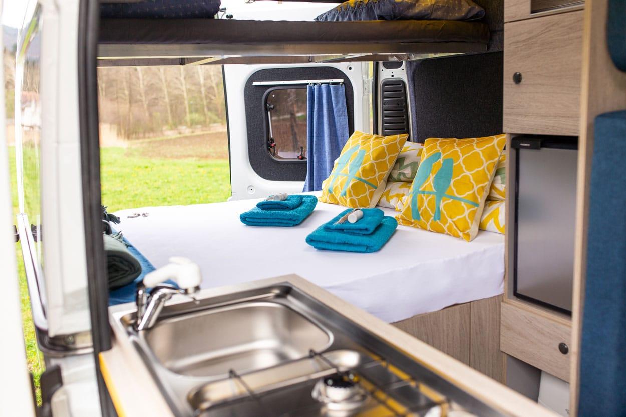 Larger campervan