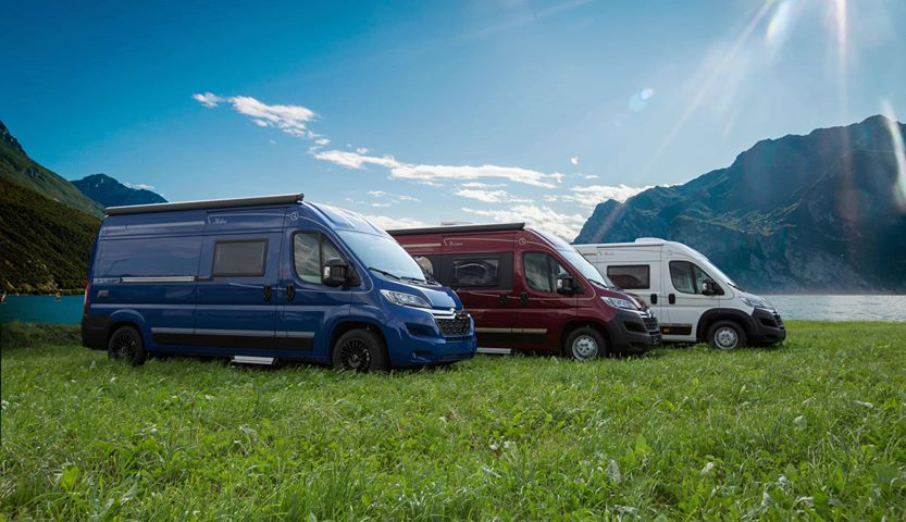 Campervan comfort fleet