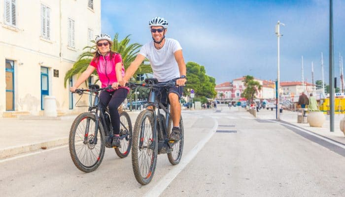 ebike cycling in Rovinj